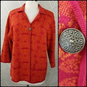 Chicos Button Cardigan size XL 3 sweater